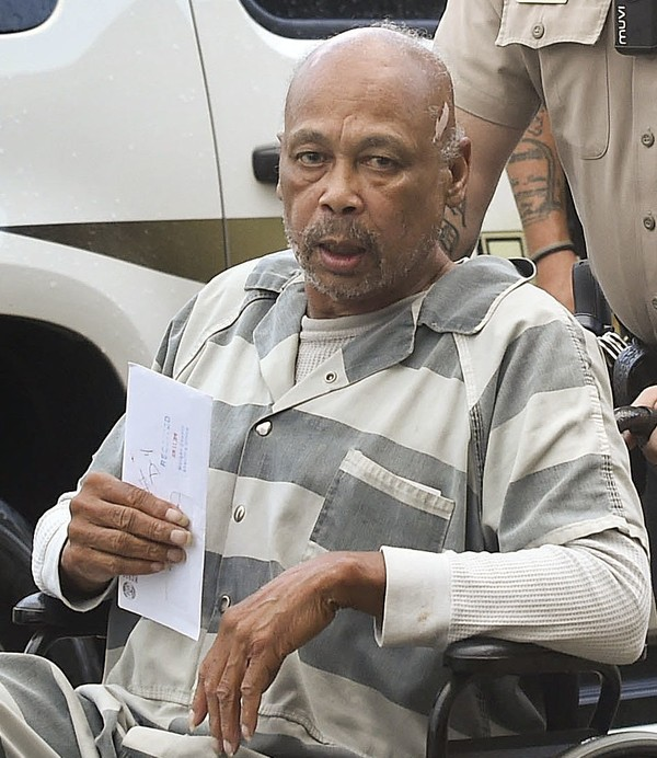 An Alabama man will serve 10 years in prison after pleading guilty to killing an opponent who was shot to death over a game of dominoes. The Decatur Daily reports 68-year-old Sterling Gerome Warren received the sentence Wednesday. He pleaded guilty to manslaughter in the death of 32-year-old Thomas Jerome Bibb Jr. in 2013. Evidence showed the two were playing dominoes when they got into a dispute. Prosecutor Stacy Adams says Bibb lost his life over 10 points in a game. (John Godbey/The Decatur Daily via AP)