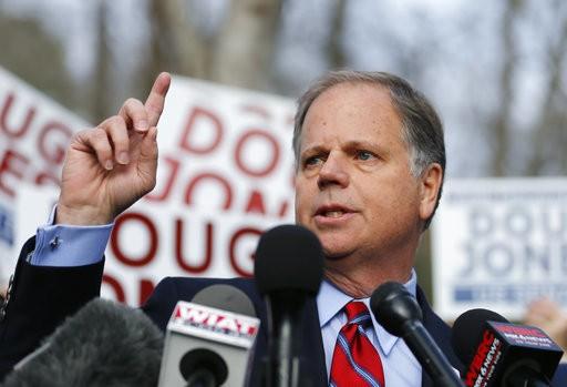 U.S. Senator Doug Jones (AP Photo/John Bazemore)