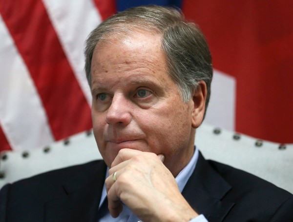 Sen. Doug Jones has called for the Senate Judiciary Committee to 'hit the pause button' on the vote to confirm Brett Kavanaugh to the U.S. Supreme Court after a California woman publicly accused Kavanaugh of sexual assault. (File)