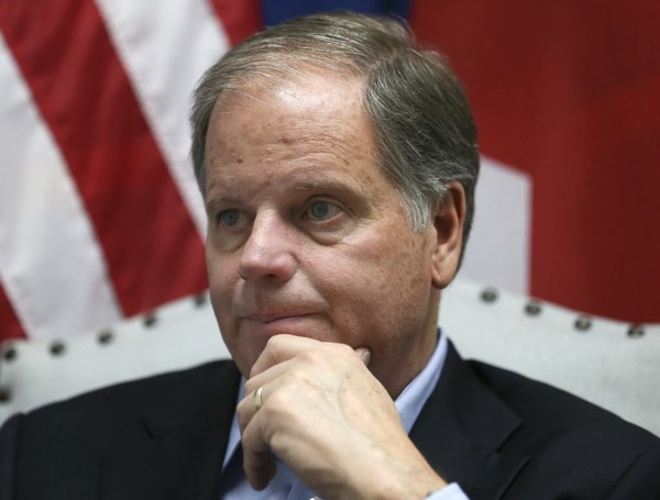 Alabama Democratic Senator Doug Jones (AP Photo/John Bazemore)