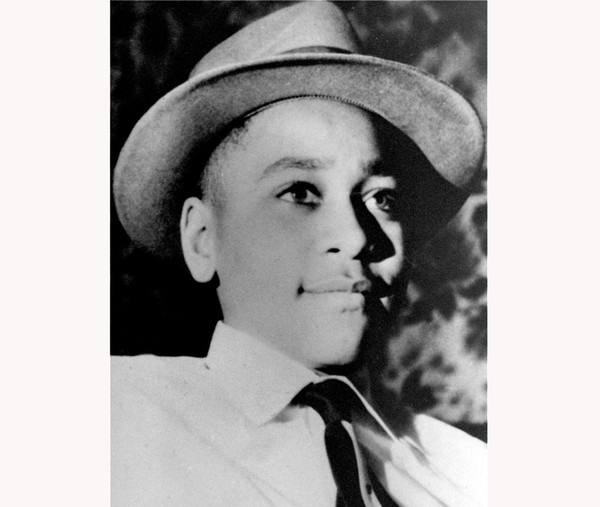 FILE - This undated photo shows Emmett Louis Till, a 14-year-old black Chicago boy, who was kidnapped, tortured and murdered in 1955 after he allegedly whistled at a white woman in Mississippi. The federal government has reopened its investigation into the slaying of Till, the black teenager whose brutal killing in Mississippi helped inspire the civil rights movement more than 60 years ago. (AP Photo, File)
