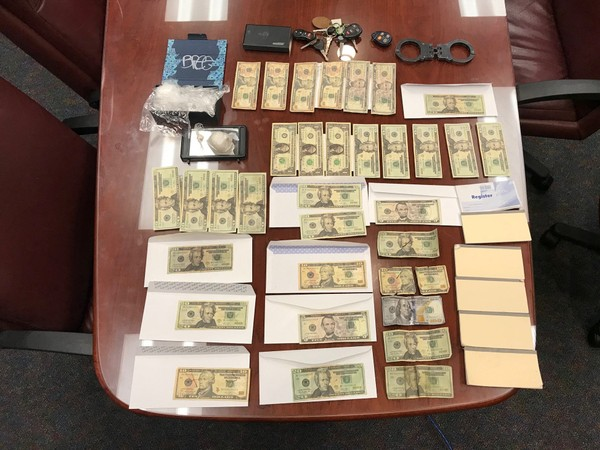 Sheriff's deputies seized counterfeit methamphetamine and money when they arrested a Limestone County man on Sept. 12, 2018.