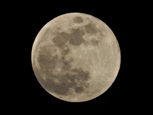 The March 31 full moon will be what is called a blue moon. It's second full moon in a calendar month. It won't take on a blue hue, but that's happened in the past. (National Weather Service photo)