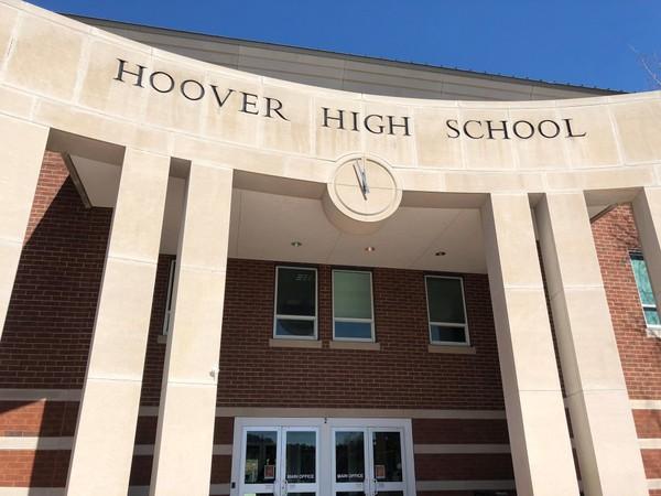 Hoover High School is one of 16 schools in the Hoover school district in Hoover, Ala.