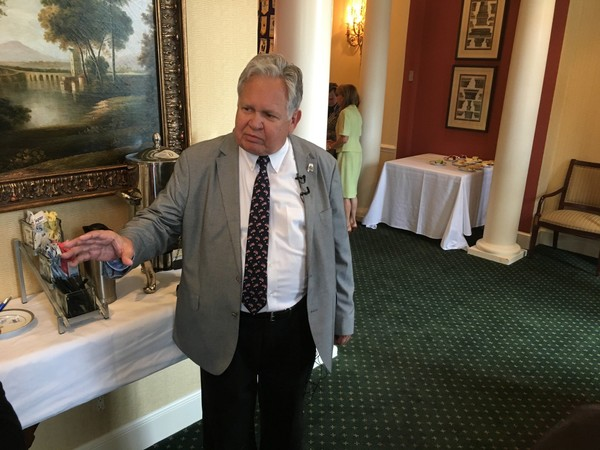 State Auditor Jim Zeigler questioned the timing of new allegations about Roy Moore's pursuit of teenage girls when he was in his 30s.