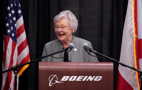 """Gov. Kay Ivey issued a statement on social media on Wednesday, May 16, 2018, in which she described accusations that she is gay as a """"bald-faced lie."""""""