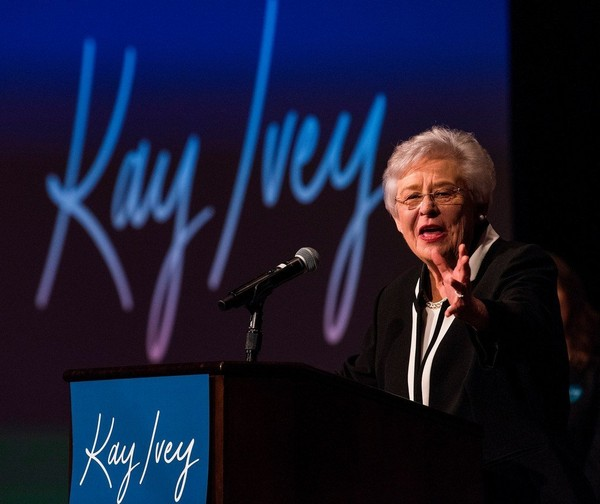 Alabama Gov. Kay Ivey's campaign ad touting the Alabama Memorial Preservation Act of 2017 has generated a biting response from the NAACP. (Mickey Welsh, The Montgomery Advertiser via The Associated Press)