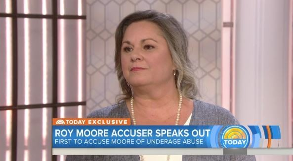 Leigh Corfman, the Alabama woman who said she had sexual contact with Roy Moore when she was 14, said she has taken a leave of absence from her job since her story was first reported. (Contributed photo/Today)
