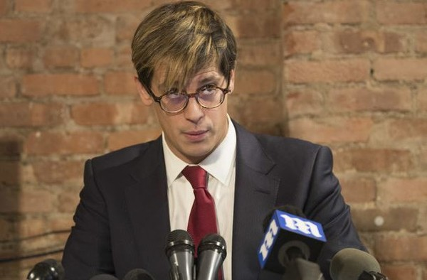 Milo Yiannopoulos speaks during a news conference, Tuesday, Feb. 21, 2017, in New York. (AP Photo/Mary Altaffer)(Mary Altaffer)