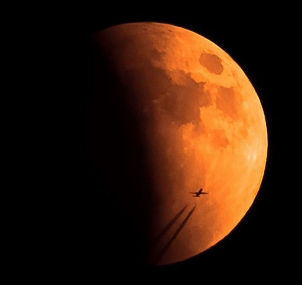 A blood moon. (Contributed photo/NASA)