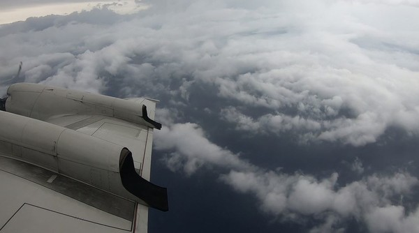 The National Oceanic and Atmospheric Administration's Aircraft Operations Center is flying missions into Hurricane Florence as it approaches the East Coast of the U.S. (Contributed photo/Nick Underwood/NOAA)