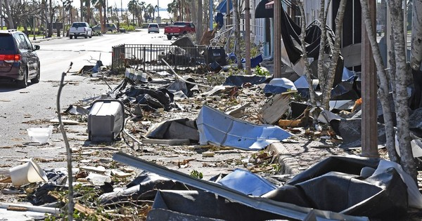 Damage in Panama City from Hurricane Michael. (Contributed photo/Bay Power)