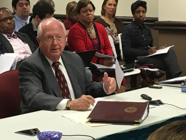 Interim Alabama superintendent Dr. Ed Richardson during the Nov. 9, 2017, board of education work session in Montgomery, Ala.