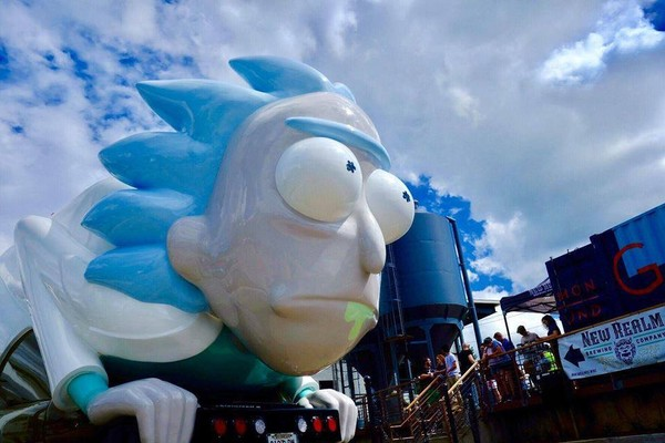 The Rickmobile (courtesy: Facebook)