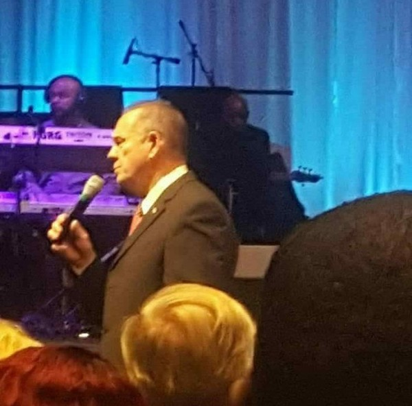 Moore speaks at Guiding Light Church