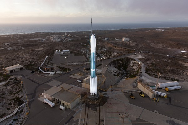 The Delta II rocket containing NOAA's JPSS-1 satellite is set to launch early Saturday from Vandenberg Air Force Base in California. (NASA/Glenn Benson)