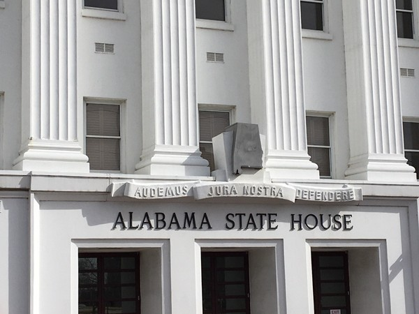 The Alabama statehouse in Montgomery, Ala.