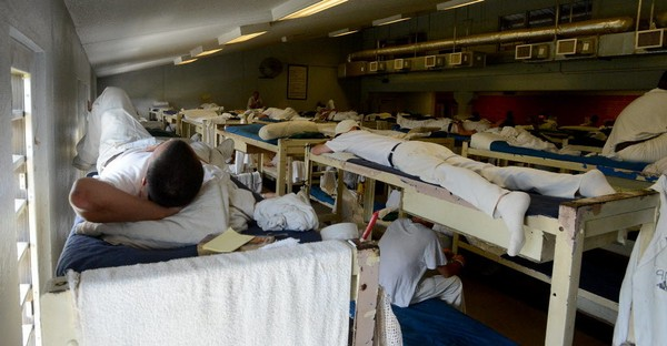 A dorm in Staton Correctional Facility in Elmore County is shown in 2013.