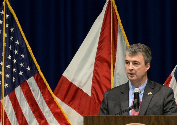 Alabama Attorney General Steve Marshall supports Alabama's civil asset forfeiture reform program, though he says there should be more transparency with it. (file photo)