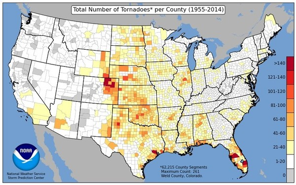 Alabama has certainly had its share of tornadoes, and tornadoes are possible every calendar month here. However, Alabama is poised to enter what is typically one of its busiest periods for severe weather. (National Weather Service)