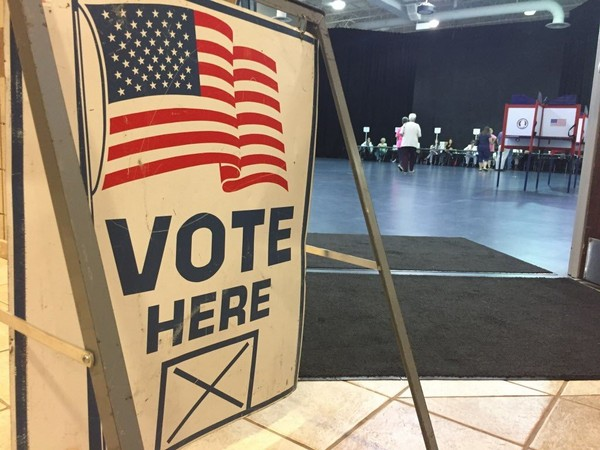 Voting at Gardendale Civic Center during the U.S. Senate special election primary on Aug. 15, 2017. (Josh Bean   jbean@al.com)