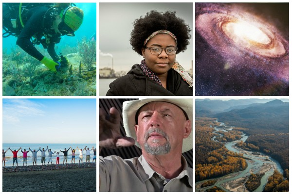 Still images from six of the 14 short films scheduled to be shown at Birmingham's presentation of the national Wild and Scenic Film Festival on Sunday, Oct. 22, 2017.