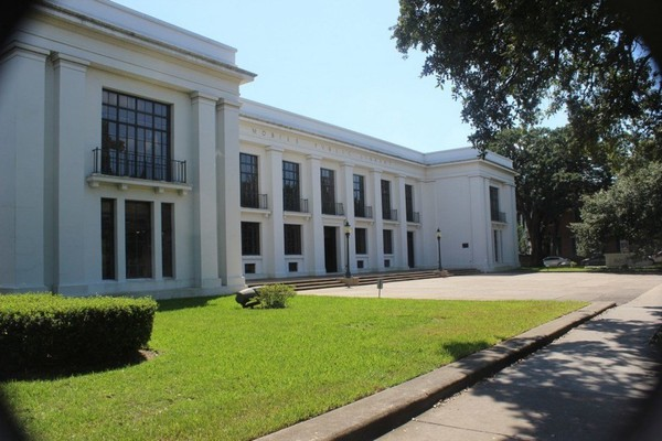 The Ben May Main branch library in downtown Mobile, Ala. This is where the Drag Queen Story Hour event will be held on Sept. 8, 2018. (file photo)
