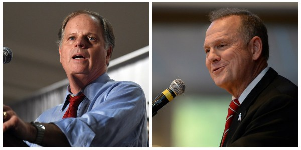 Democrat Doug Jones (left), and Republican Roy Moore (right) will square off in the Dec. 12, 2017, general election for the U.S. Senate seat vacated in February 2017 by Jeff Sessions. Alabama Gov. Kay Ivey called for a special election in April 2017, but it could be the last time a governor has the authority to do so. The Alabama Legislature will consider legislation next year that would end the special elections for the Senate, and place more authority with the governor in making an interim appointment. Supporters say the proposal will save costs, as this year's special Senate election is estimated to cost taxpayers $15.5 million or more. (file photo)