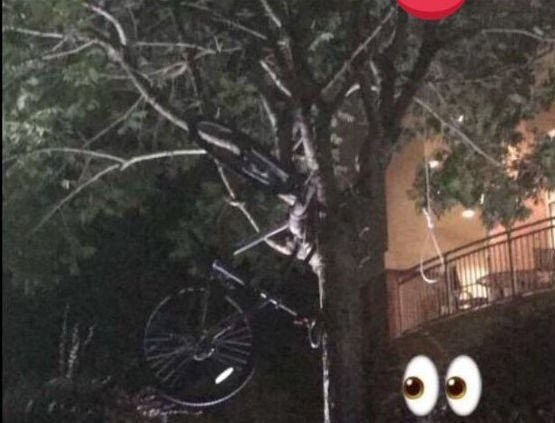 The bicycle and a noose (Contributed by USA Student)
