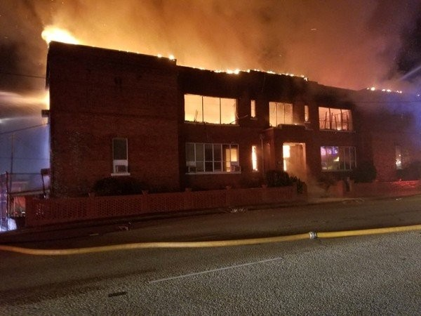 School officials are asking for donations and supplies to pay for damaged equipment and moving supplies after a fire destroyed a building at Booker T. Washington Magnet School in Montgomery early Saturday morning.