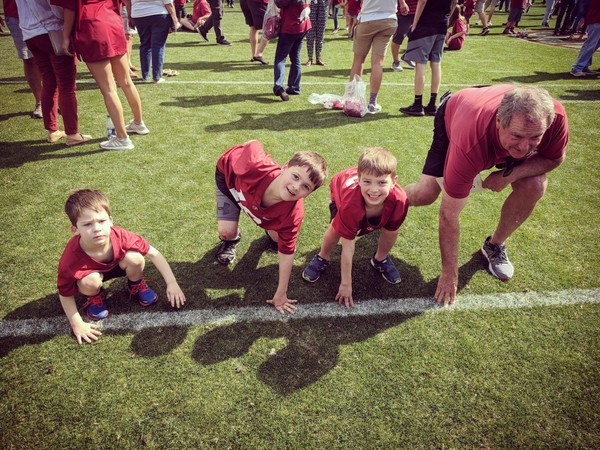 My dad is the kind of masculine role model that I want to be for my sons. (Cameron Smith)