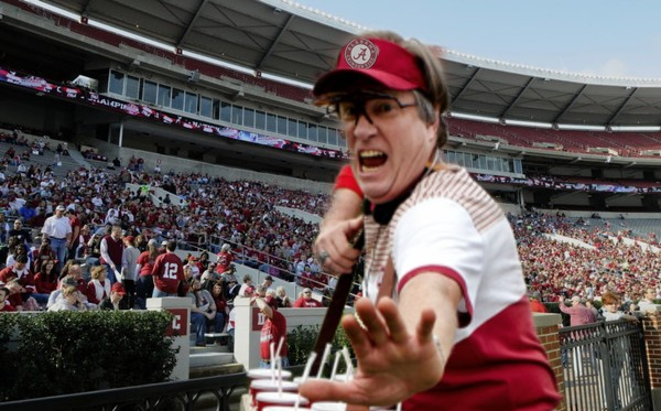 Larry Culpepper, the former concession vendor and self-proclaimed inventor of the College Football Playoff, is getting a second chance courtesy of Nick Saban.