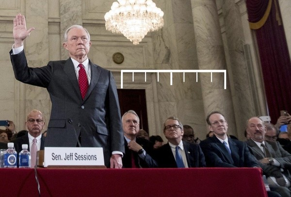 Attorney General Jeff Sessions has numerous ties to Birmingham-based Balch & Bingham, including his counsel during his most recent confirmation hearings.