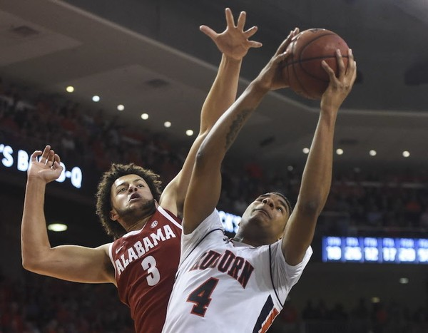 Alabama and Auburn could lock up NCAA Tournament bids by the time the teams play again on March 5. (Julie Bennett/jbennett@al.com)