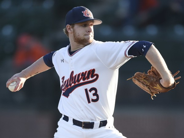0fe2236d3aff Auburn pitcher Davis Daniel is slated to make his first start since April  14 when the