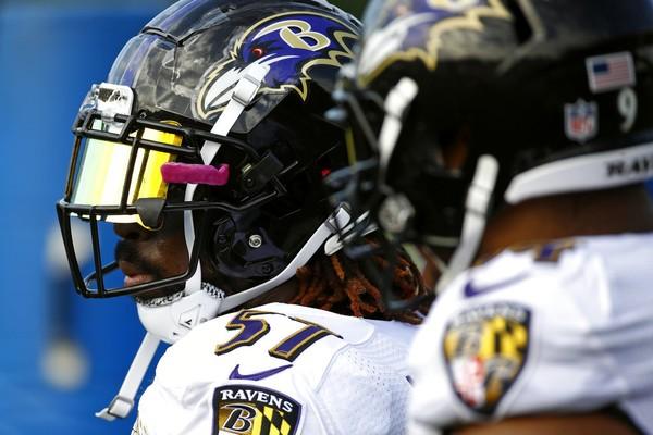3b221726e Baltimore Ravens inside linebacker C.J. Mosley (57) at training camp on  Friday