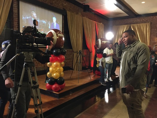 Alabama defensive lineman Da'Ron Payne celebrated his NFL Draft Party on Thursday, April 26, at Woodrow Hall in Woodlawn. Payne was drafted 13th overall by the Washington Redskins.