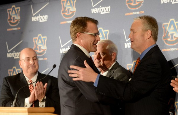 Not unlike many of its SEC peers, Auburn has used a search firm twice in recent years including to hire Gus Malzahn. (Julie Bennett/jbennett@al.com)