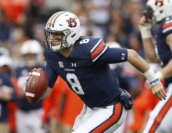 Quarterback Jarrett Stidham leads an Auburn fast-paced offense -- he's completing 68.1 percent of his throws -- that No. 12 LSU must contain to pull off the upset of the 10-point favored Auburn Tigers.