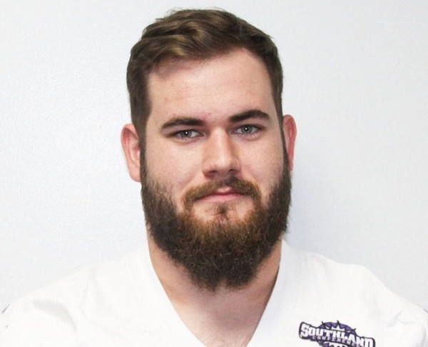 Former Central Arkansas offensive lineman John Austin Cook is expected to play at South Alabama this fall as a graduate transfer. (Central Arkansas athletics)