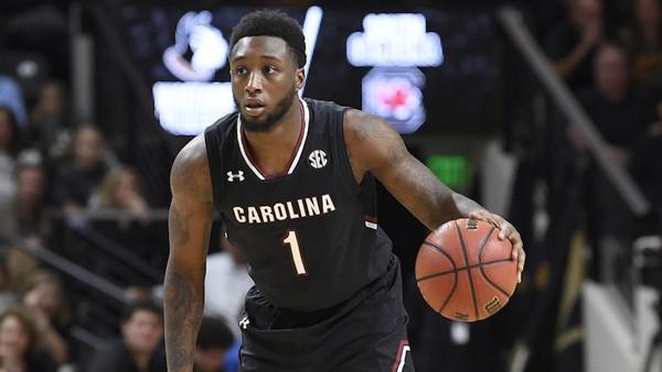 Former South Carolina point guard Korey Holden has signed with South Alabama. (South Carolina athletics photo)