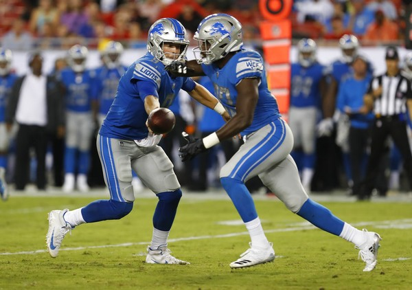 Rookie Kerryon Johnson Will Determine His Role In Detroit Lions