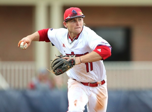 Former South Alabama third baseman Brendan Donovan (11) is headed to professional baseball after signing with the St. Louis Cardinals organization. (Mike Kittrell/AL.com)