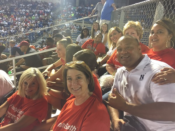 Diane and Galu Tagovailoa, the parents of quarterbacks Tua and Taulia Tagovailoa, attended last Friday's game between Thompson and Hoover, and then traveled to Tuscaloosa the next morning for Alabama's win against Arkansas State.