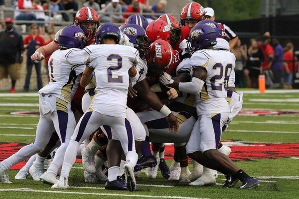 Jacksonville State and North Alabama last met in football in 2016, a 31-12 victory for the Gamecocks. (North Alabama athletics photo)