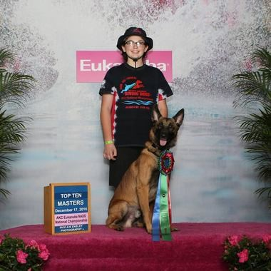 Zak and Duke have been invited back to the American Kennel Club North American Diving Dogs National Championship this year, but will spend time this summer training other dock diving teams at Duke's K9 Dash N' Splash in Mantua.