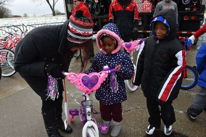 Over the years, Elves & More has given bikes to kids in Summit County neighborhoods and in the past five years has branched out to include neighborhoods in Stark and Cuyahoga counties.