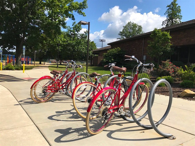 Summit Bike Share offers bikes at seven Akron locations.