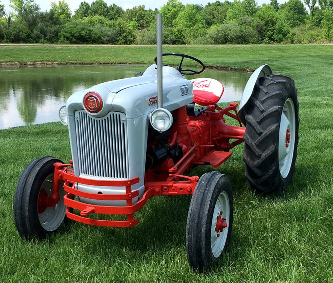 Stan Hywet's Father's Day Car Show will also feature restored, vintage tractors and farm trucks on display from Meyers Farm in Cuyahoga Falls.