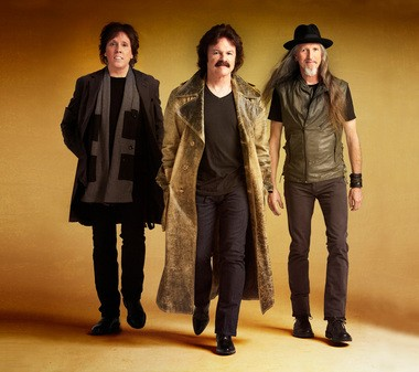 The Doobie Brothers today feature guitarst John McFee, left, a member of more than 30 years, and founding members Tom Johnston, center, and Patrick Simmons. The band will play March 30 at Quicken Loans Arena as part of the Majic 105.7 2013 Moondog Coronation Ball. Photo courtesy of the Doobie Brothers.